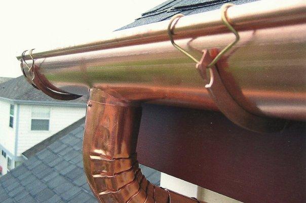 New Copper Gutter Install5